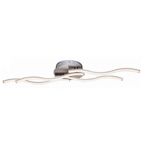 люстра светодиодная globo ina 12 вт 29 см цвет хром Люстра светодиодная Globo Lighting Sarka 67000-14D, LED, 16 Вт