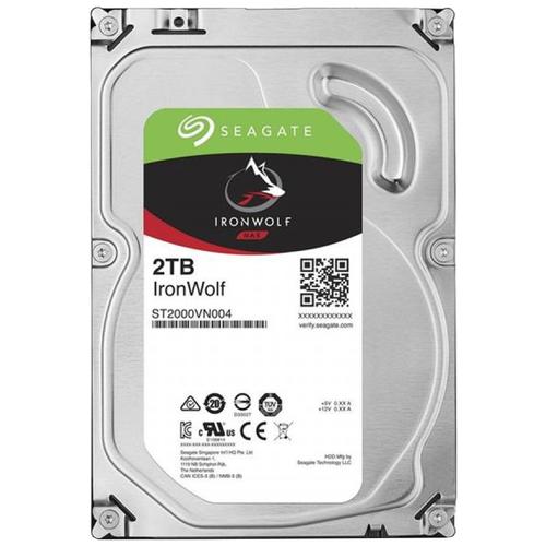 Жесткий диск Seagate IronWolf 2 TB ST2000VN004 жесткий диск seagate ironwolf 3 tb st3000vn007