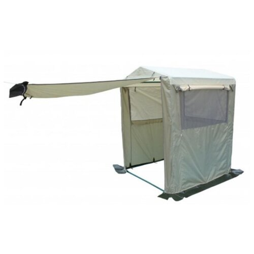 Фото - Палатка-Кухня Митек Стандарт 1,5х1,5 бежевый-хаки палатка митек нельма 1