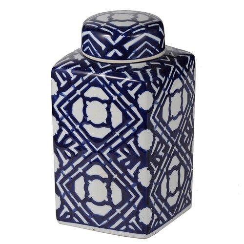 ваза с крышкой glasar 19x19x45 см Ваза с крышкой 13x13x25 см