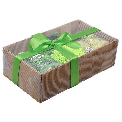 Купить Подарочный Ванный набор Бодрость хвойного леса 4 предмета Банные штучки / 8 (41379)