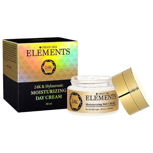 Купить Elements Активный антивозрастной дневной крем для лица с гиалуроновой кислотой минералами Мертвого моря, 50 мл (Израиль), Sea of Spa