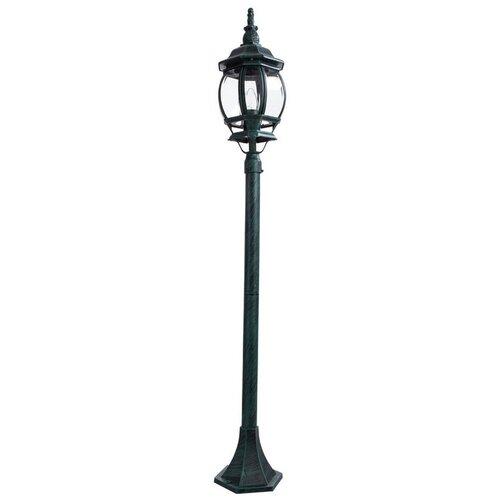Arte Lamp Уличный светильник Atlanta A1046PA-1BG, E27, 100 Вт, цвет арматуры: черный arte lamp уличный светильник atlanta a1044fn 1bg