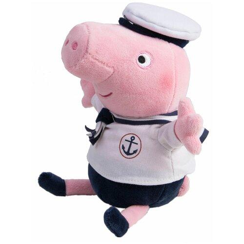 Мягкая игрушка РОСМЭН Peppa pig Джордж моряк 25 см