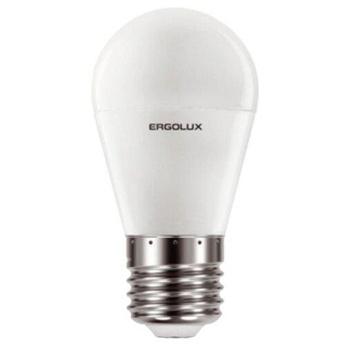 Фото - Лампа светодиодная Ergolux LED-G45-11W-E27-3K, E27, G45, 11Вт светодиодная лампа ergolux led g45 11w e27 6k упаковка 10 шт