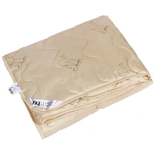 Одеяло DREAM TIME Верблюжья шерсть 150 г/кв.м, легкое, 172 х 205 см (кремовый)