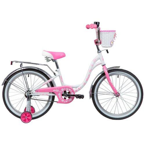 Фото - Детский велосипед Novatrack Butterfly 20 1 (2019) розовый (требует финальной сборки) детский велосипед novatrack urban 20 2019 синий требует финальной сборки