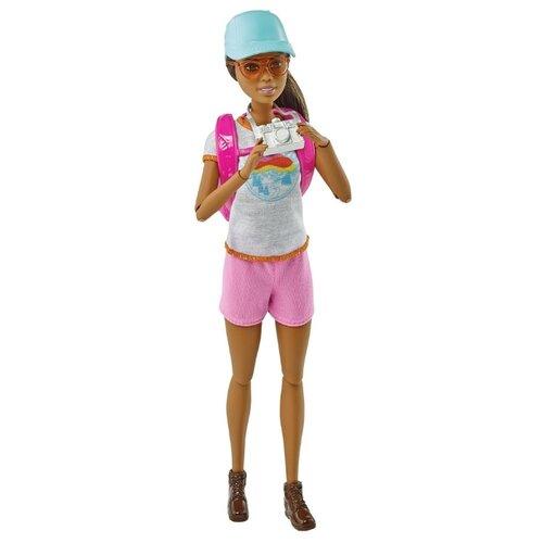Купить Кукла Barbie Релакс Оздоровительная прогулка, GRN66, Куклы и пупсы