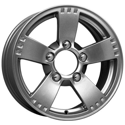 Колесный диск K&K Камелот 7х16/5х139.7 D98 ET40, 6.73 кг, дарк платинум колесный диск neo wheels 649 7х16 5х112 d57 1 et50 9 2 кг s