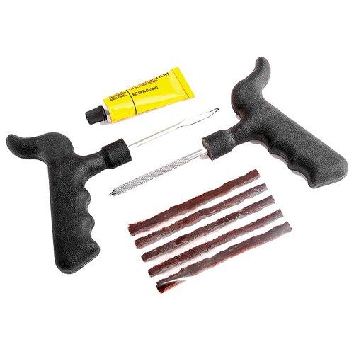 Ремкомплект бескамерных шин AUTOPROFI REM-30 Profi, (шило-рашпиль, аппликатор жгута, эластичные жгуты, клей)