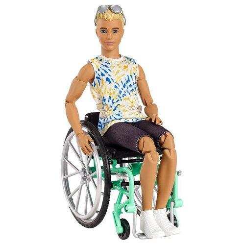 Купить Кукла Barbie Игра с модой Кен в инвалидном кресле, GWX93, Куклы и пупсы
