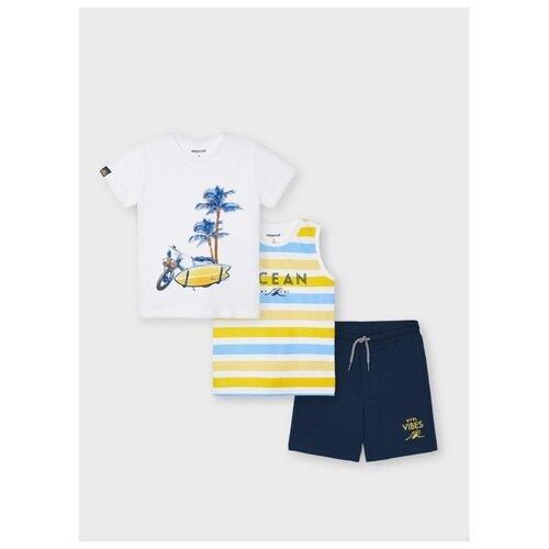 Купить Комплект одежды Mayoral размер 128, желтый, Комплекты и форма