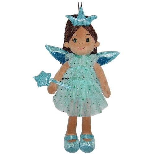 Фото - Мягкая игрушка ABtoys Кукла Фея в голубом платье 45 см мягкая игрушка abtoys кукла рыжая в голубом платье 20 см
