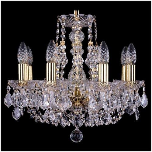 Фото - Bohemia Ivele Crystal 1406 1406/8/141/G/Leafs люстра bohemia ivele crystal 1406 1406 8 141 g balls e14 320 вт