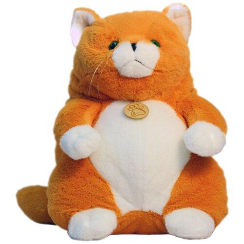 Мягкая игрушка Lapkin Толстый кот рыжий 20 см