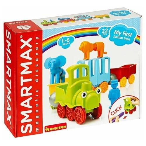Купить Конструктор SmartMax My First 410 Поезд с животными (22 дет.), Конструкторы