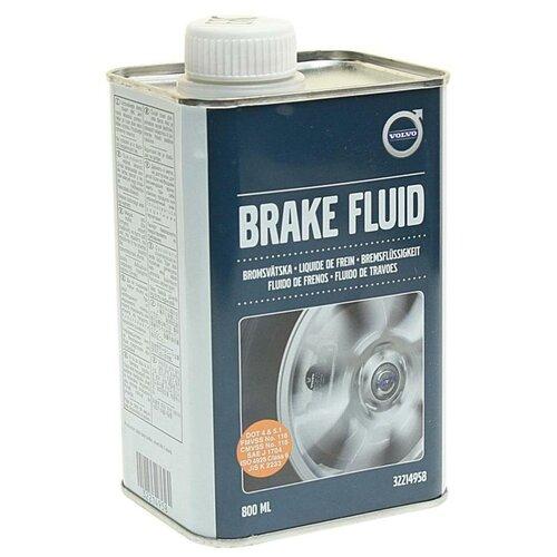 Тормозная жидкость Volvo DOT-4+ Brake Fluid (32214958) 0.8 л