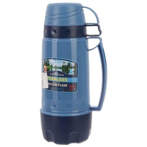 Классический термос Peerless PEE060, 0.6 л синий