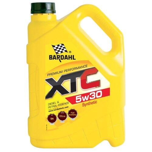 Синтетическое моторное масло Bardahl XTC 5W30, 5 л по цене 2 898