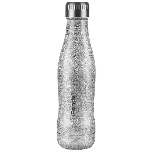 Термобутылка Rondell Disco, 0.4 л platinum