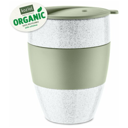 Термокружка Koziol Aroma to go 2.0 Organic, 0.4 л зеленый