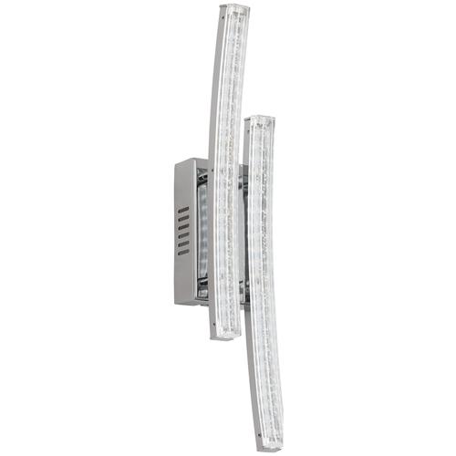 Настенный светильник светодиодный Eglo Pertini 96097, 6 Вт, цвет арматуры: хромовый, цвет плафона: бесцветный светильник светодиодный eglo pertini 96092 led 21 6 вт