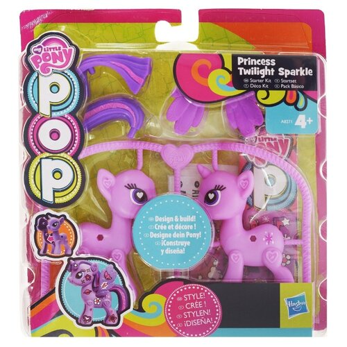 Игровой набор Princess Twilight Sparkle, My Little Pony Pop, цвет фиолетовый my little pony big twilight sparkle fluttershy princess celestia nightmare moon unicorn pegasus animal toys girl birthday gifts