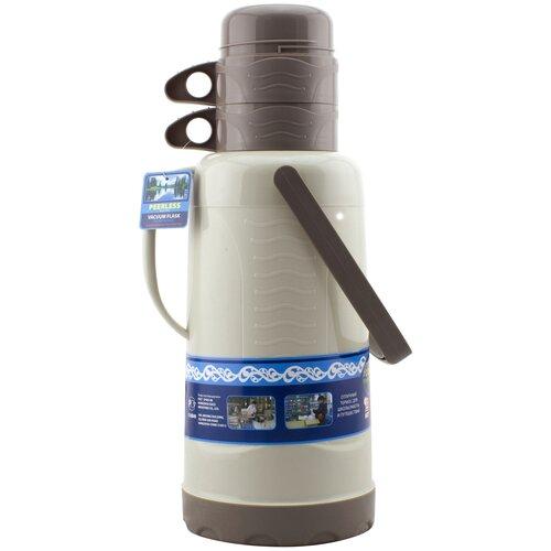 Классический термос Peerless РЕЕ-320, 3.2 л серый/коричневый