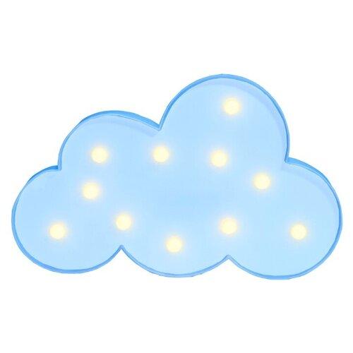 настенные часы apeyron electrics pl 01 023 черный Ночник светодиодный Облако / светильник детский APEYRON electrics , голубой