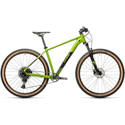 Фото - Горный (MTB) велосипед Cube Analog 29 (2021) deepgreen/black 17 (требует финальной сборки) велосипед cube elite c 68 race 29 2x 2016