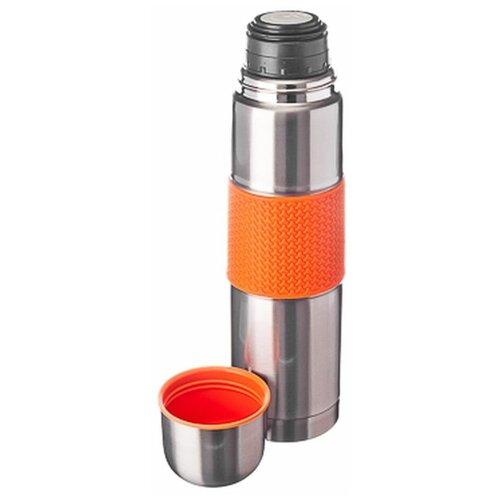 Классический термос Satoshi Kitchenware Ямато 841634, 0.75 л серебристый/оранжевый