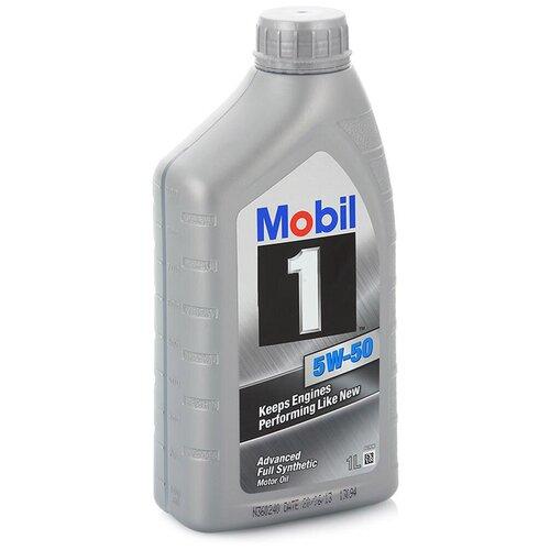 Синтетическое моторное масло MOBIL 1 5W-50, 1 л по цене 956