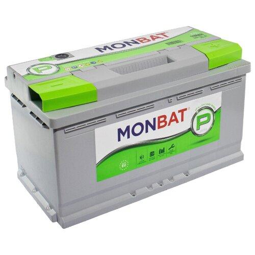 Автомобильный аккумулятор MONBAT PREMIUM 100 Ач 900 А (обратная полярность)