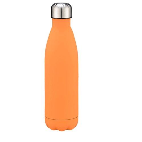 Бутылка термос из нержавеющей стали для горячего и холодного, металлическая бутылка для воды, 500 мл., Blonder Home BH-MWB-02