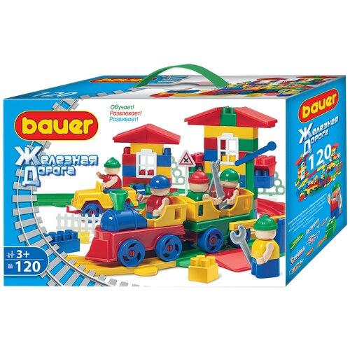 Купить Конструктор Bauer Железная дорога 254-120, Конструкторы
