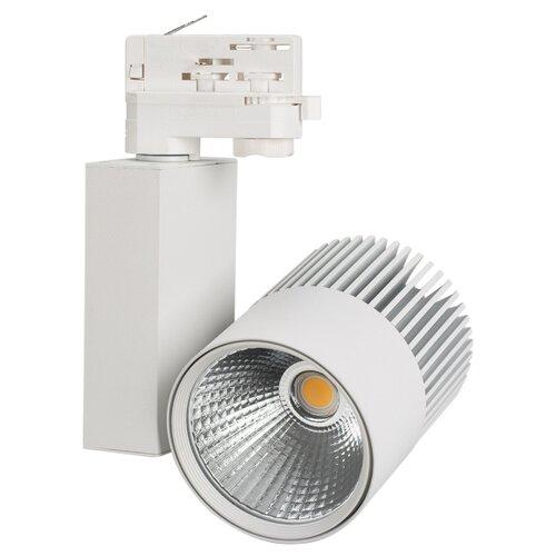 Трековый светильник-спот Arlight LGD-ARES-4TR-R100-40W White6000 (WH, 24 deg) трековый светильник спот arlight lgd loft track 4tr s170 20w white6000 wh 24 deg