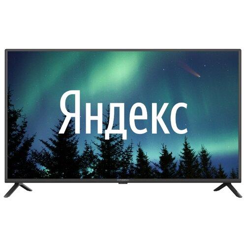 Телевизор Hyundai H-LED40FS5001 40 (2020) на платформе Яндекс.ТВ, черный телевизор hyundai 40 h led40et4100 frameless черный