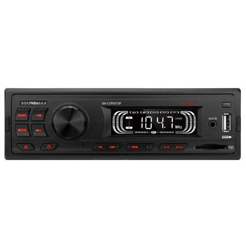 Фото - Автомагнитола SoundMAX SM-CCR3072F, черный автомагнитола soundmax sm ccr3050f черная