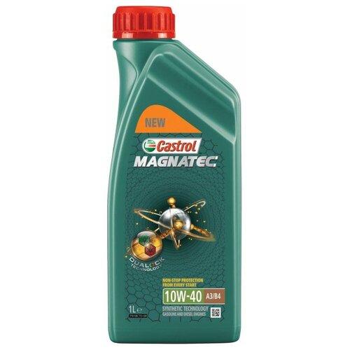 Фото - Полусинтетическое моторное масло Castrol Magnatec 10W-40 А3/В4 DUALOCK, 1 л полусинтетическое моторное масло castrol vecton 10w 40 7 л