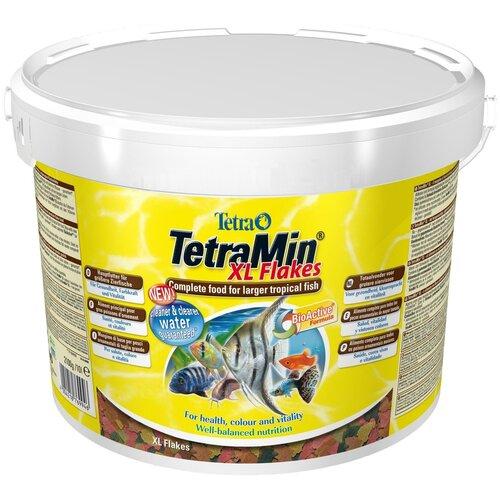 Фото - Сухой корм для рыб Tetra TetraMin XL Flakes 10000 мл сухой корм для рыб tetra tetramin xl flakes 1000 мл