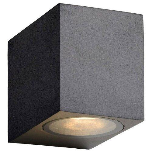 lucide mamba 09400 23 12 22 5 вт Lucide Настенный светильник Zora LED 22860/05/30, GU10, 5 Вт, цвет арматуры: черный