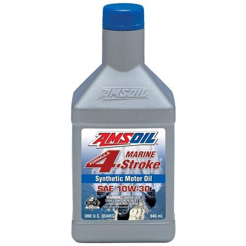 Фото - Синтетическое моторное масло AMSOIL Formula 4-Stroke Marine Synthetic Oil 10W-30, 0.946 л синтетическое моторное масло amsoil synthetic 2 stroke injector oil 3 78 л