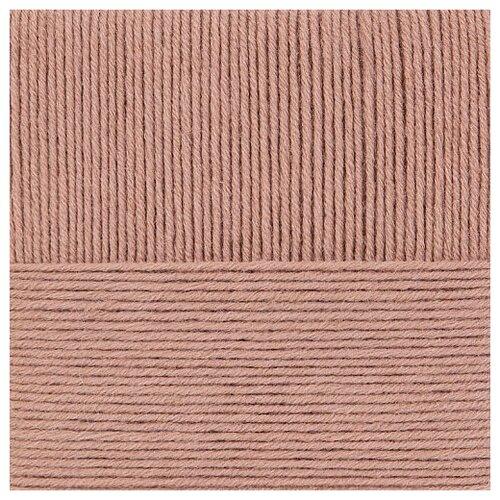 Пряжа для вязания ПЕХ Зимняя премьера (50% мериносовая шерсть, 50% акрил) 10х100г/150м цв.274 серо-бежевый