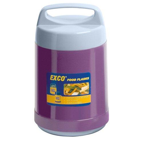 Термос для еды Hangzhou EXCO Industrial Food Flask, 1.4 л фиолетовый