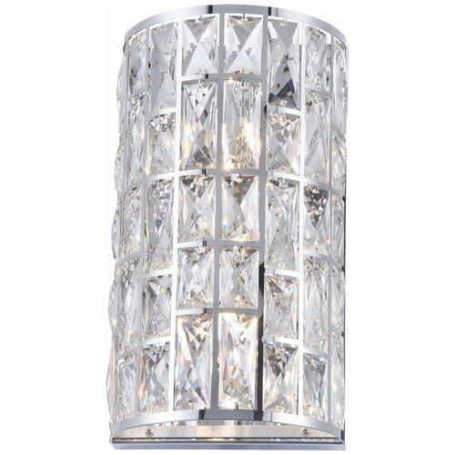 Настенный светильник MAYTONI Gelid MOD184-WL-02-CH, G9, 80 Вт, кол-во ламп: 2 шт., цвет арматуры: хромовый, цвет плафона: бесцветный настенный светильник maytoni gelid mod184 wl 01 ch