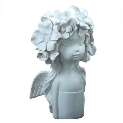 Ваза Хорошие сувениры Девочка с бантом (5312207), белый