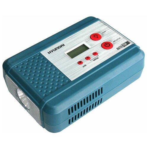 Фото - Автомобильный компрессор Hyundai HY 1540 синий аккумулятор автомобильный hyundai cmf 65ач 520a [75d23l]