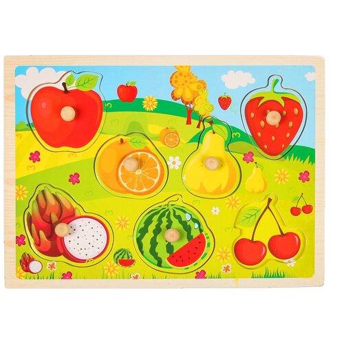Рамка-вкладыш Фрукты и ягоды 2567244