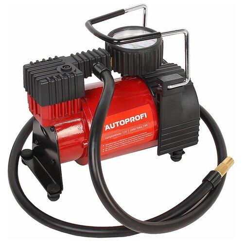 Автомобильный компрессор AUTOPROFI AK-30 красный