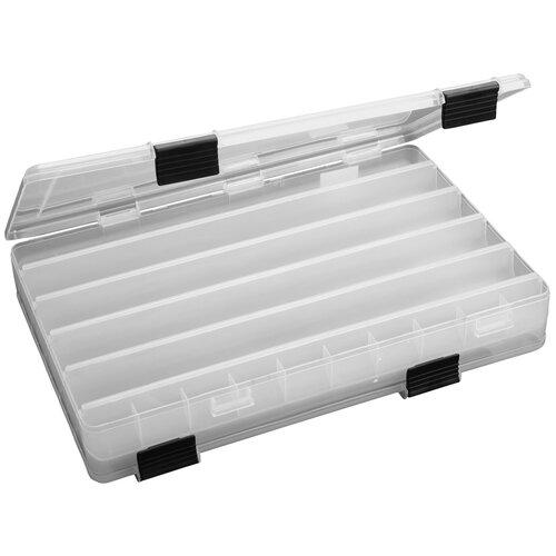 Коробка для приманок для рыбалки MIKADO UAC-E006 35.5х24х6.5 см бесцветный